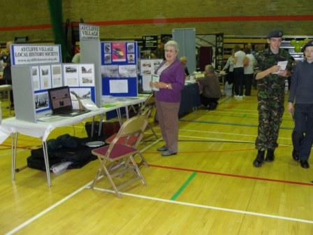 Aycliffe Village Local History Society stand