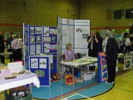 Great Aycliffe Town Council stand