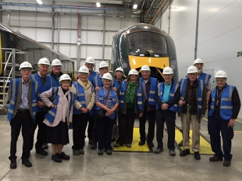 Society visit to Hitachi