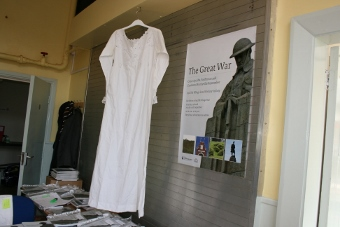 WW1 nighdresses made by nuns in Malta