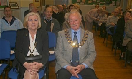 George Gray, the Mayor of Great Aycliffe and his wife Maude