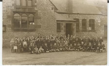 Old village school group
