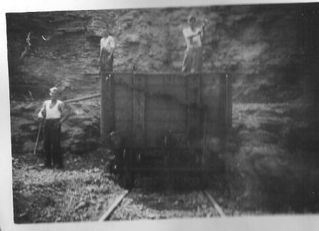 Workers in Aycliffw Quarry