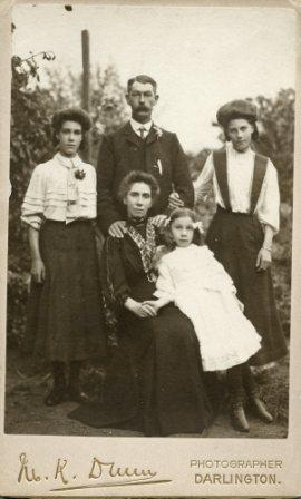 Robert William Blenkinsopp and family