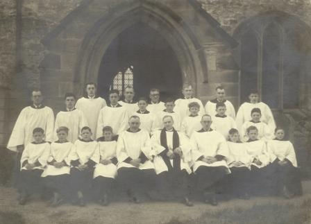 St. Andrew's Church Choir, 1949