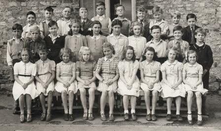 Rita Farrow's photograph of Aycliffe Village School