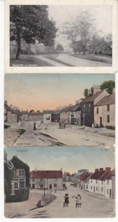 Old postcards - Haughton le Skerne and Sedgefield