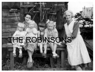 Robinsons of 3 Railway Cottages