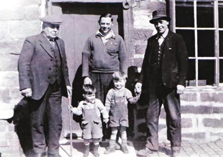 Greenwell family 1950s, courtesy and copyright of Colin Greenwell