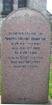 Joseph Wilson Dobinson, Preston West Farm, Preston le Skerne
