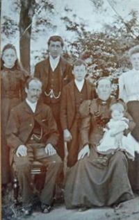 The Ellerton Family, courtesy of Peter Ellerton