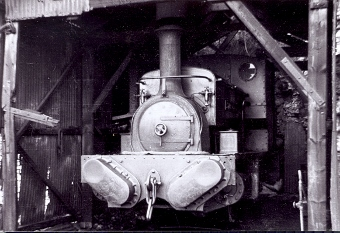 Ayrsome No 12 in shed