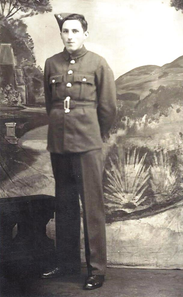 Alfred Metcalfe WW1