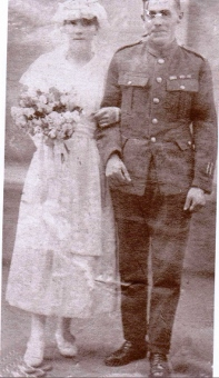 Frederick and Margaret Horseman WW1