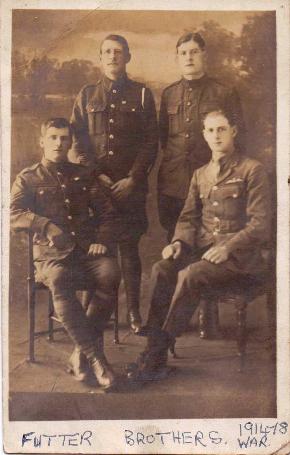 Futter brothers WW1