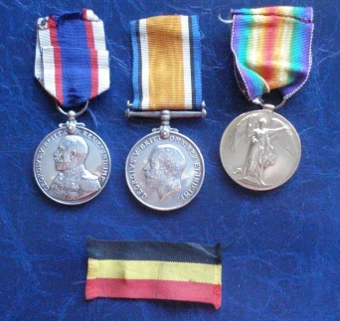 John Blair medals WW1