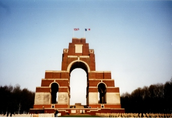 Thiepval Memorial WW1