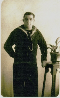 Alfred Johnson WW1 Royal Navy