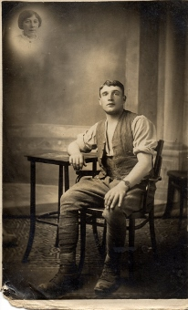 Joseph Edward Johnson WW1 in civvies